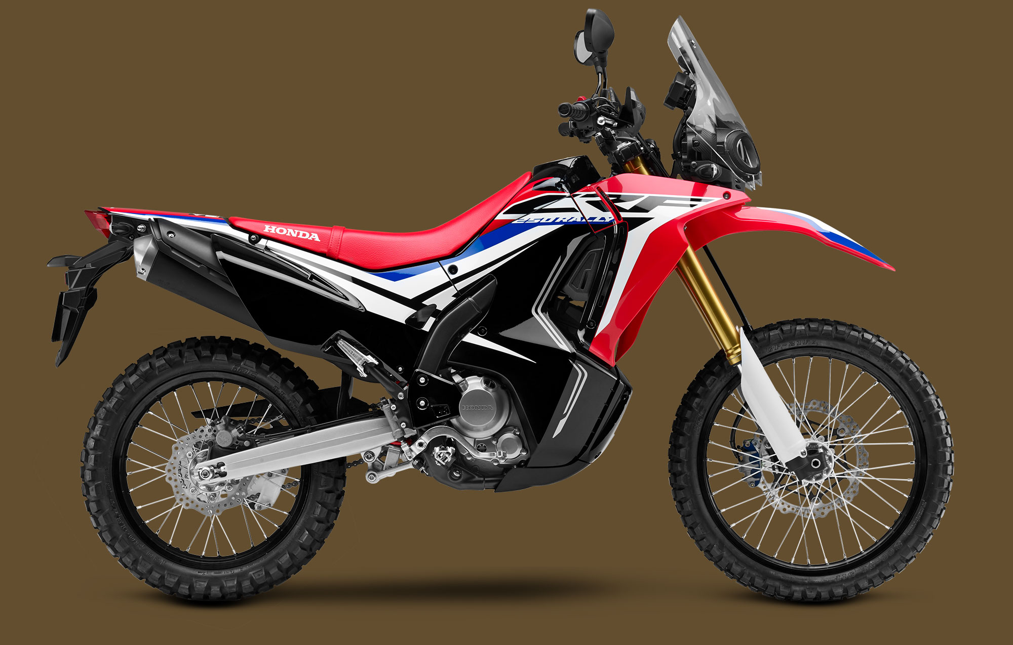 new 2017 honda crf250l rally in no longer a concept. Black Bedroom Furniture Sets. Home Design Ideas